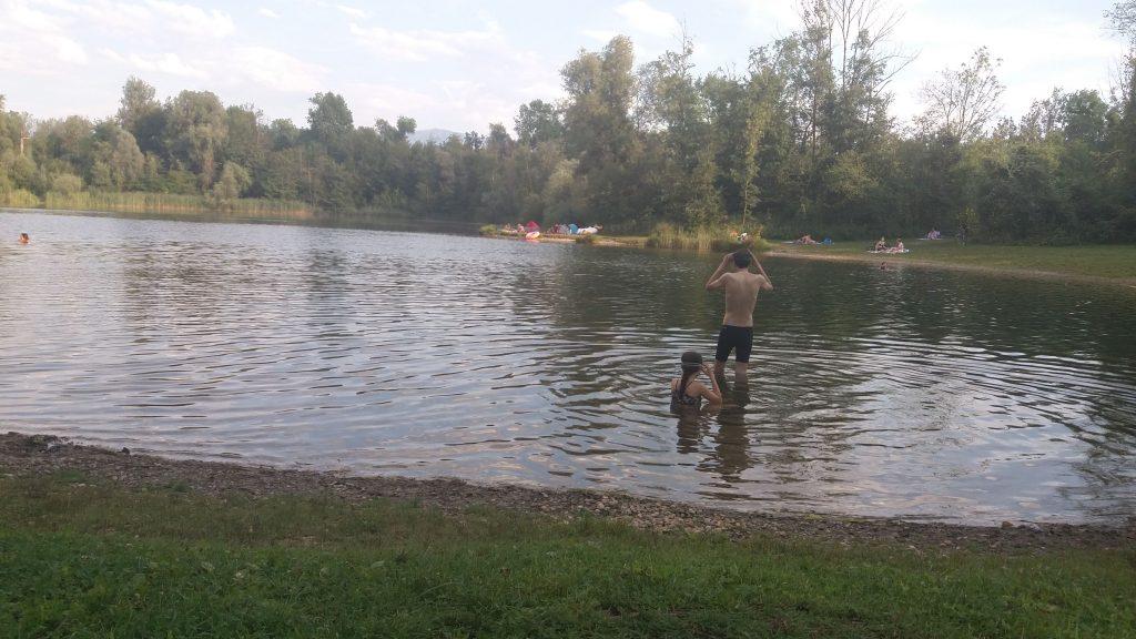 צילום באגם